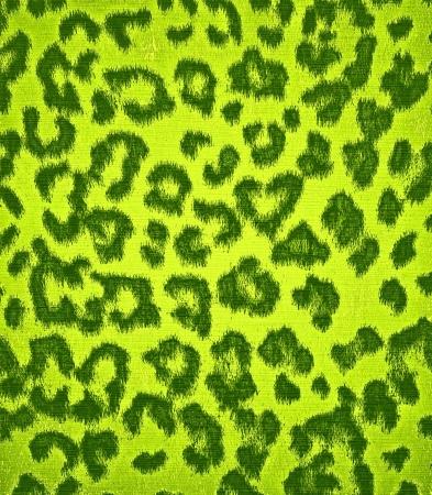 digital print: Lime Green Leopard Print Fur