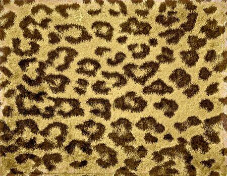 Leopard Print Fur Skin photo