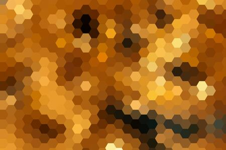 diamong: Abstract ray light background made from hexagonal