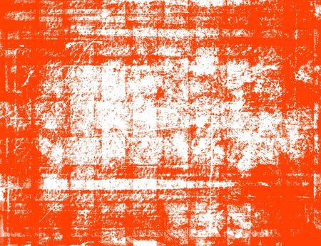 Orange and white grunge background photo