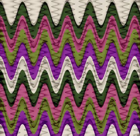 Wavy Stripes Pattern Background Stock Photo - 15521027