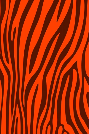 Red zebra skin animal print pattern photo