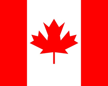 canadian flag: Canada flag Stock Photo