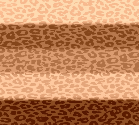 Retro leopard print stripe pattern with stylish colors