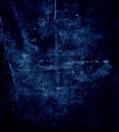 Dark blue wall texture, grunge background Stock Photo - 15731736