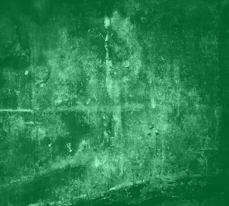 Green Abstract Grunge Textured Background  photo