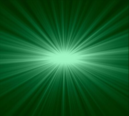 A green color design with a burst photo