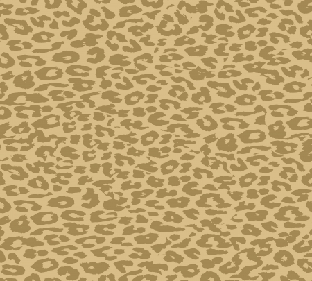 wrapping animal: Vintage Leopard Print Fur Skin