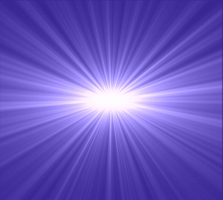 Star burst purple and blue  photo