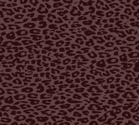 Brown Leopard Print Fur photo