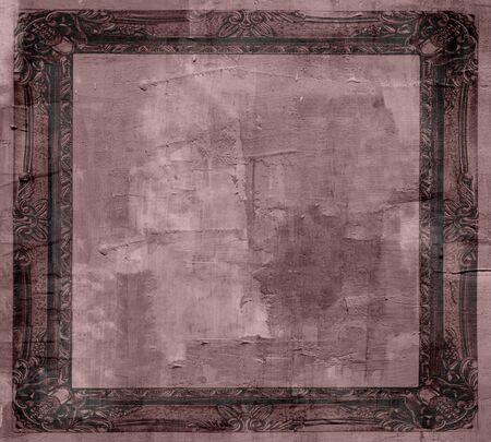 Art Grunge Frame Background  photo