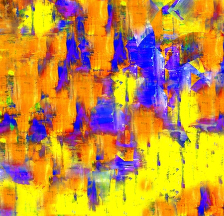 Abstract art backgrounds - Hand-painted background photo