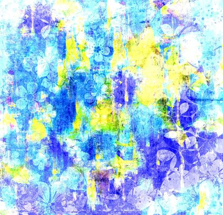 cool colors: Art Cool Colors Abstract Painting Texture Background