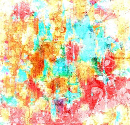 Art Colors Abstract Painting Texture Background photo