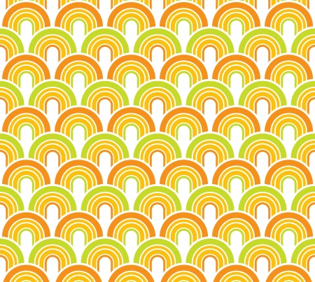 Abstract seamless background with colorful fifties Stock Photo - 15826594