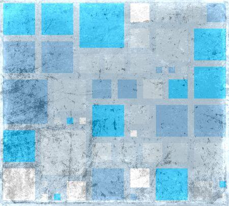 Close-up van ruwe blauwe grijze geweven achtergrond Stockfoto