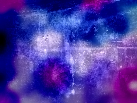 Abstract gouache paint and brushes closeup Stock Photo - 15847930
