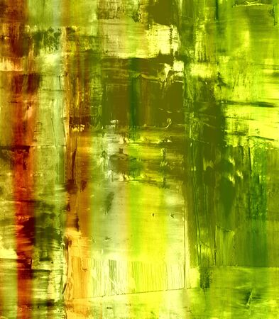Artists oil paints multi colored close up semi abstract  photo
