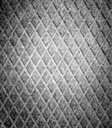 grunge diamond metal plate photo