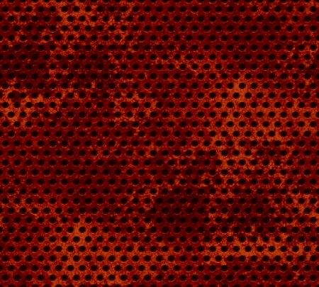 Grill metal hole on grunge texture background Stock Photo - 15851396