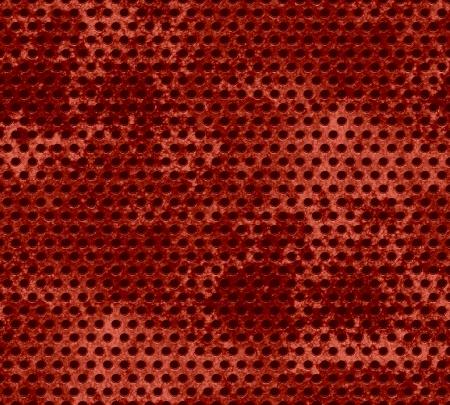 Dark brown Grunge metal mesh background  Stock Photo - 15851540