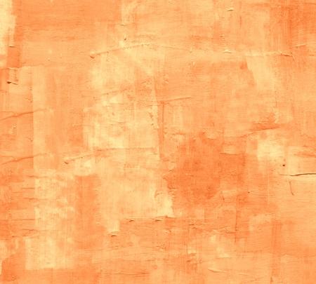 back to the future: Orange Painted Grunge Texture Background  Stock Photo