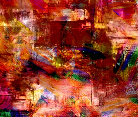 artwork backdrop: Mixed technics, Expression Abstract painting