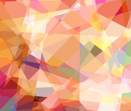 scrunch: Retro abstract cubism art graphic design background