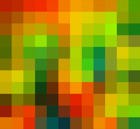 cubism: Abstract technical background made from squares Stock Photo
