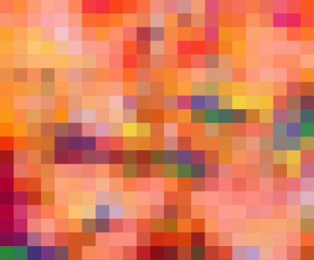 old pc: Abstract technical background made from squares Stock Photo