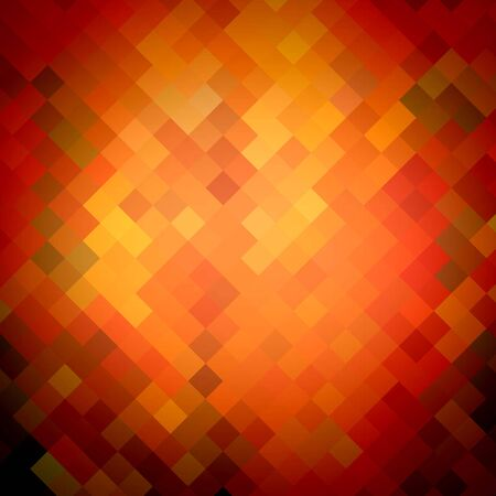 multilayer: Warm color Abstract art backgrounds