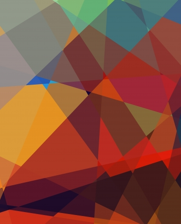 Retro colorful cubism abstract art background Stock Photo - 15872731