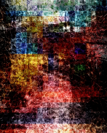 layer masks: Abstract art grunge background texture