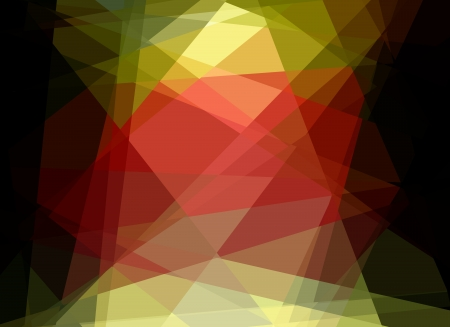 Retro colorful cubism abstract art background Stock Photo - 15898335