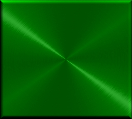 round: 3d green metal texture background Stock Photo