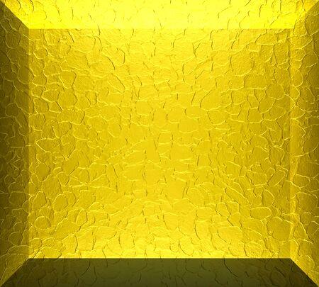 3D Gold metal texture background