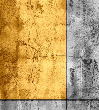 crumple: Abstract art texture background with border Stock Photo