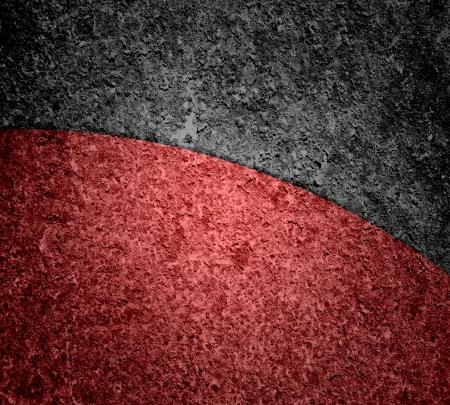 expressive style: Black and Red Abstract art texture background Stock Photo