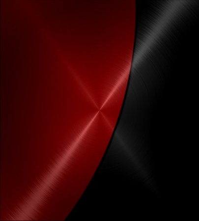 metal structure: Black and red shiny metal texture background Stock Photo