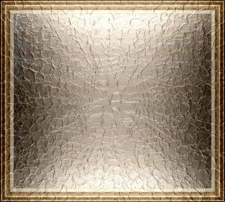 metallic: Designed textute border with metallic