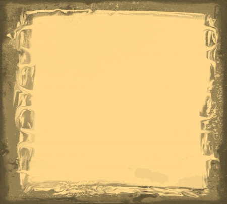 Grunge frame with space for your text or image Stock Photo - 16000377