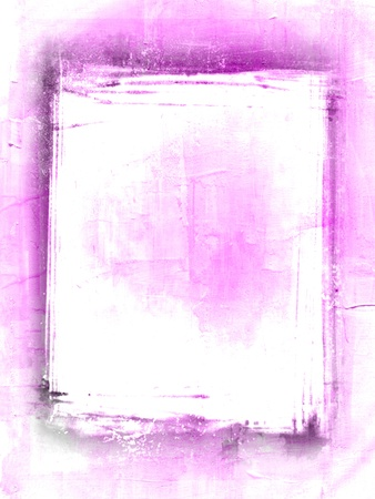 Abstract art backgrounds with designed grunge border  photo