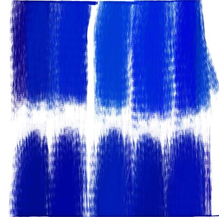 paint brush texture blue watercolor spot blotch isolated Stock Photo - 17496953