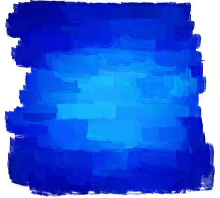hand painted blue art background Stock Photo - 17496946