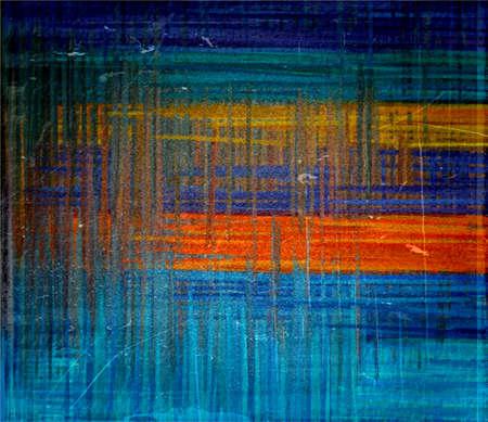 Orange and blue grunge texture art background Stock Photo - 17517684