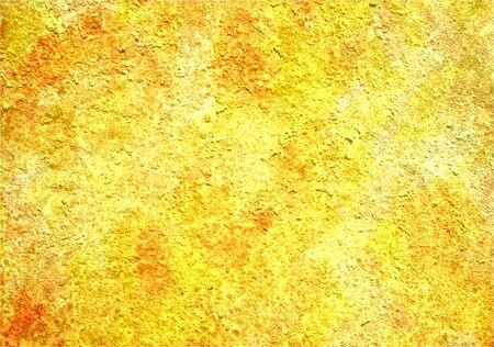 Yellow grunge texture art background Stock Photo - 17517794