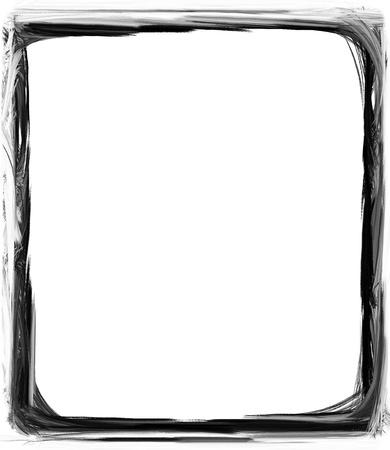 電腦設計的垃圾邊框或框架