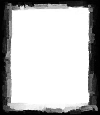 Computer designed grunge border or frame Stock Photo - 17517540