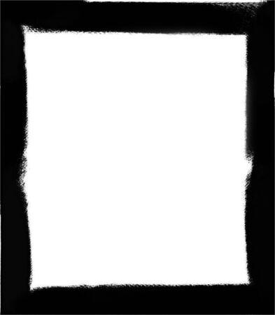 Computer designed grunge border or frame Stock Photo - 17517549