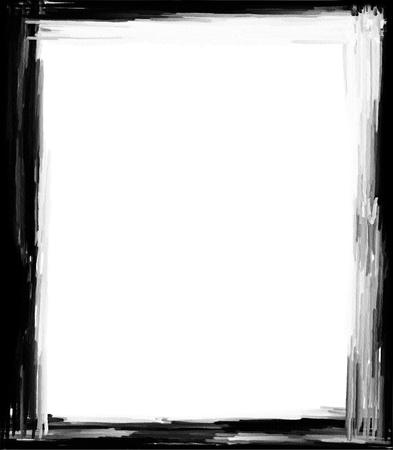 Computer designed grunge border or frame Stock Photo - 17517541